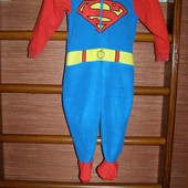 Человечек флисовый,мальчику на 2-3 года, рост до 98 см, George