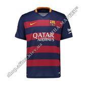 Футбольная футболка Барселоны 2015-2016 Nike домашняя (1582)
