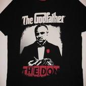 Новая черная мужская футболка Крестный Отец the Don the Godfather Reserved хлопок