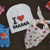 Весенний модный комплект Я люблю маму 2 в 1! Не пропустите!