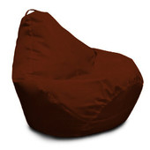 темно-шоколадное кресло-груша 120х90 см из ткани Оксфорд