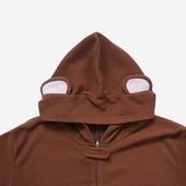 Флисовый взрослый человечек-пижама-костюм Обезьяна размер S, б/у.