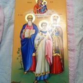 мерная икона, семейная икона, крестильная икона под заказ