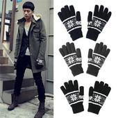 Новые мужские перчатки (цвет темно-серый)