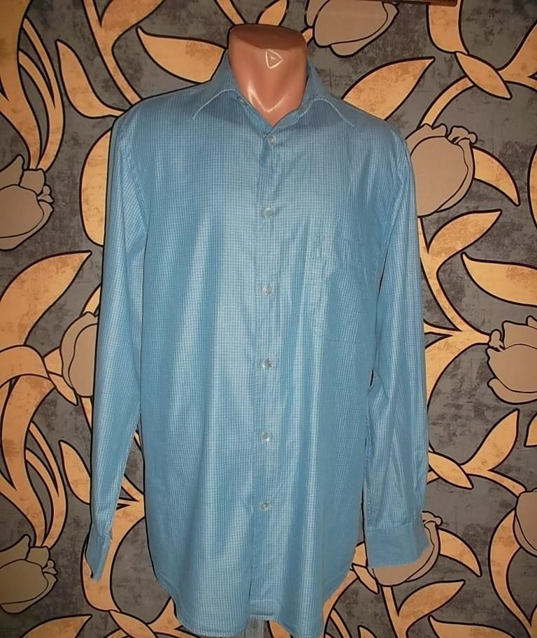 Мужская рубашка с длинным рукавом фото №1