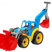 """Іграшка Іграшка """"Трактор з двома ковшами Техн, арт. 3671"""