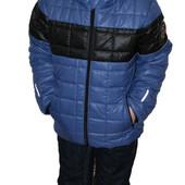 Весенняя курточка для мальчика отечественного производителя Зара -кубик