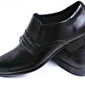Классические туфли из натур кожи № 515
