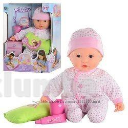 Интерактивная функциональная кукла - пупс мила чистим зубки фото №1