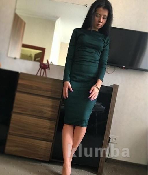 Хит! классическое платье-миди 13 цветов (48-52 размеры 340 грн) фото №15