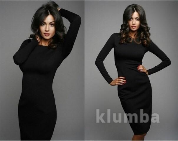 Хит! классическое платье-миди 13 цветов (48-52 размеры 340 грн) фото №1