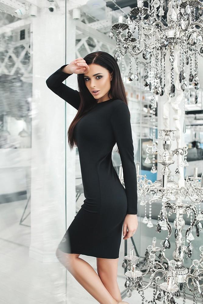 Хит! классическое платье-миди 13 цветов (48-52 размеры 340 грн) фото №9