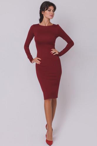 Хит! классическое платье-миди 13 цветов (48-52 размеры 340 грн) фото №4