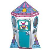 Игровой картонный домик - Ракета Bino 44004