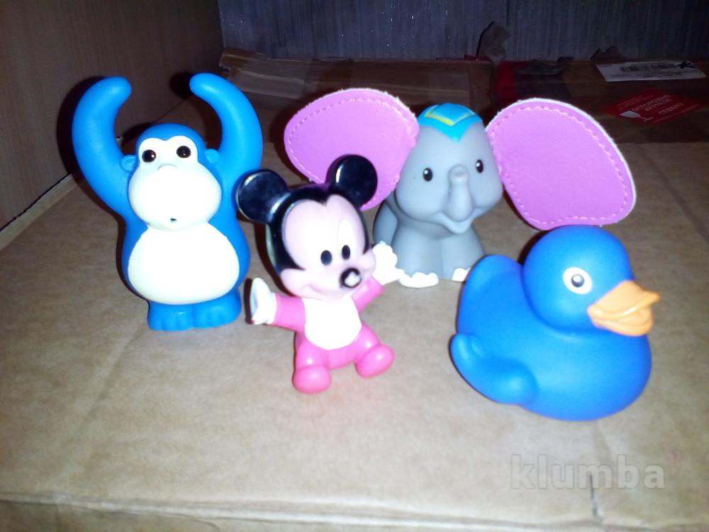 Резиновые игрушки мики маус little people фото №1