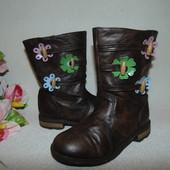 Гламурные сапоги Nina kids 11(28)р,ст 18,5 см.Мега выбор обуви и одежды