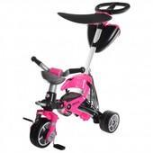 Доставка! Детский трехколесный велосипед Injusa Bios Girl, цвет розовый, 00000097670