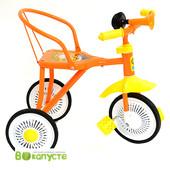 Детский трехколесный велосипед Profi Trike LH 701, цвет оранжевый