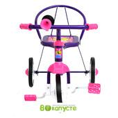 Детский трехколесный велосипед Profi Trike LH 701, цвет фиолетовый