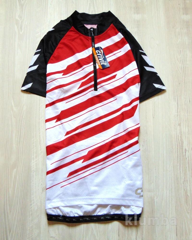 Новая футболка для велоспорта. Crivit. Доступна в размерах: m (48-50). фото №1