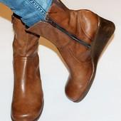 Ботинки 42 р Bata Чехия кожа оригинал демисезон