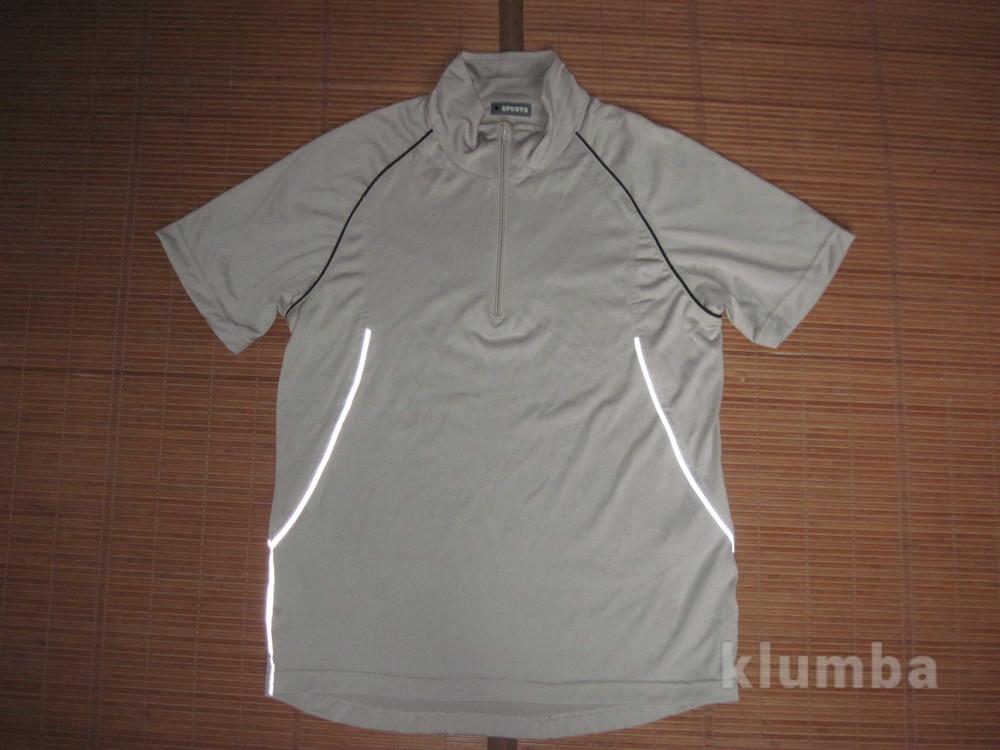 4 Sports (L) спортивная беговая футболка мужская бежевая фото №1