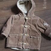 Теплая демисезонная куртка 80р. Baby Club