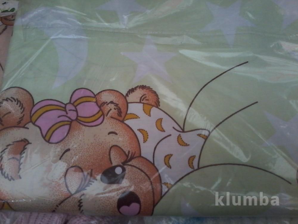 Детское постельное белье в кроватку:простынь,пододеяльник,наволочка фото №8