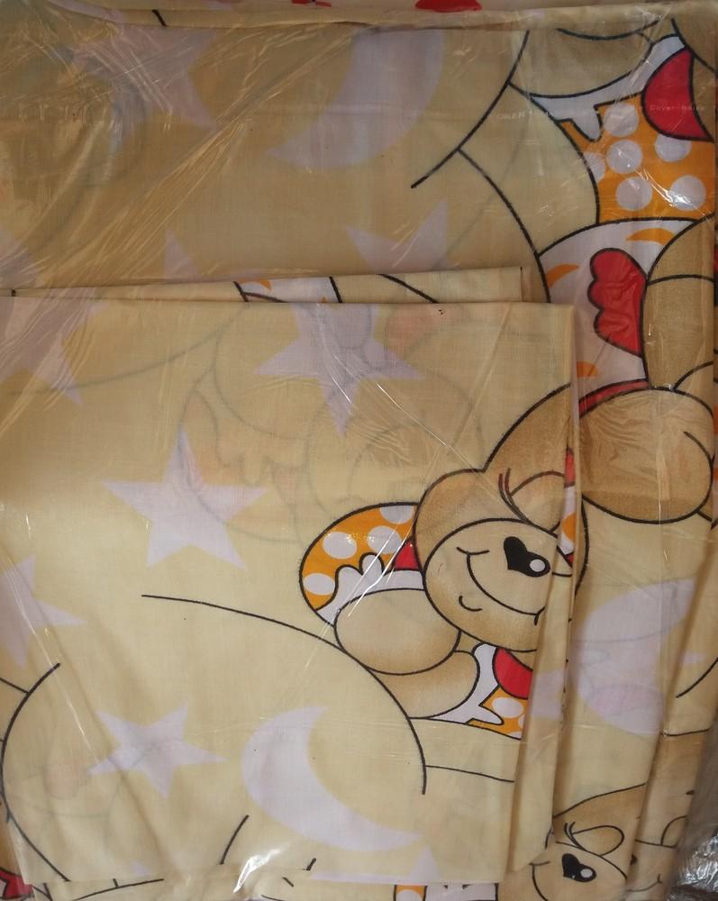 Детское постельное белье в кроватку:простынь,пододеяльник,наволочка фото №2