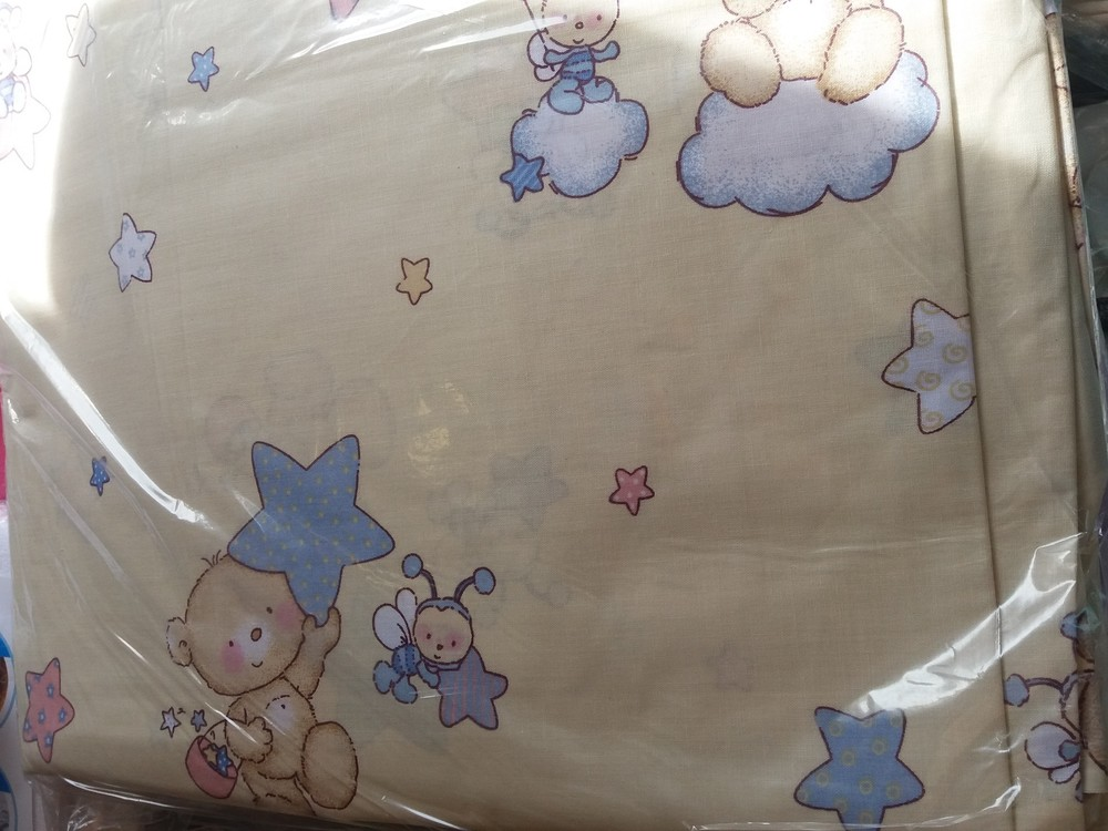 Детское постельное белье в кроватку:простынь,пододеяльник,наволочка фото №3