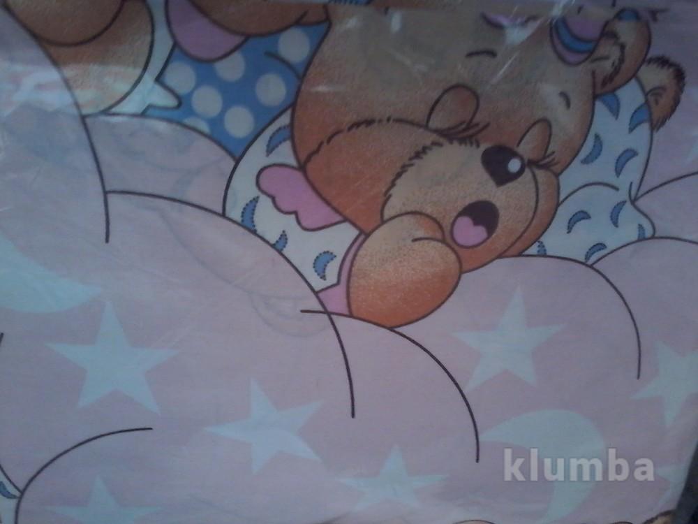 Детское постельное белье в кроватку:простынь,пододеяльник,наволочка фото №5