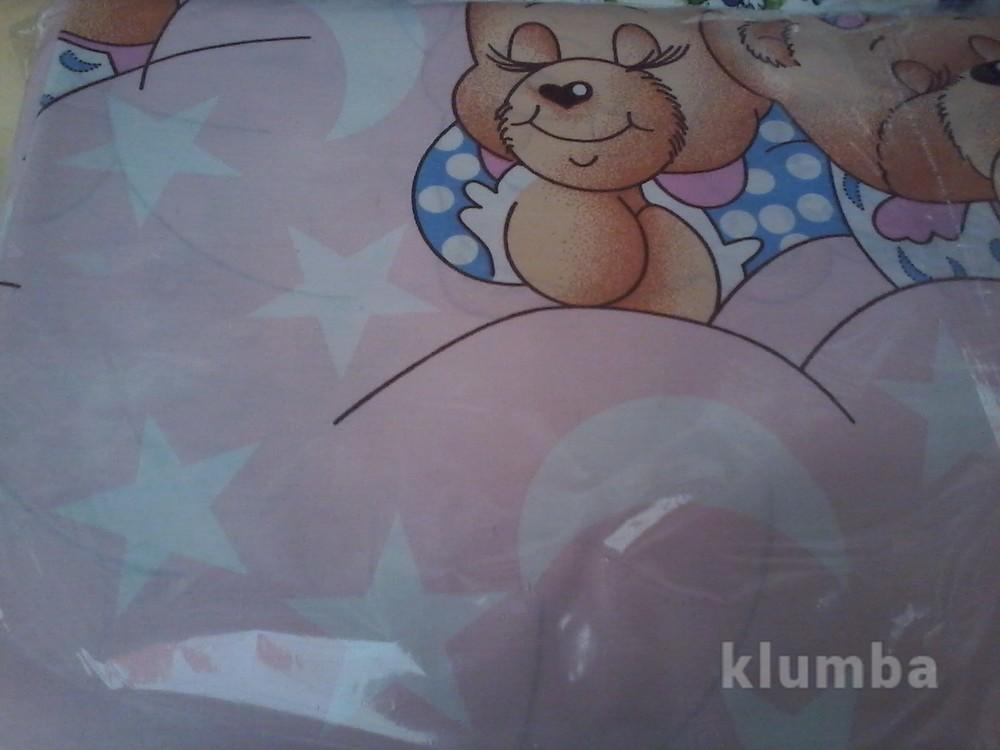 Детское постельное белье в кроватку:простынь,пододеяльник,наволочка фото №6