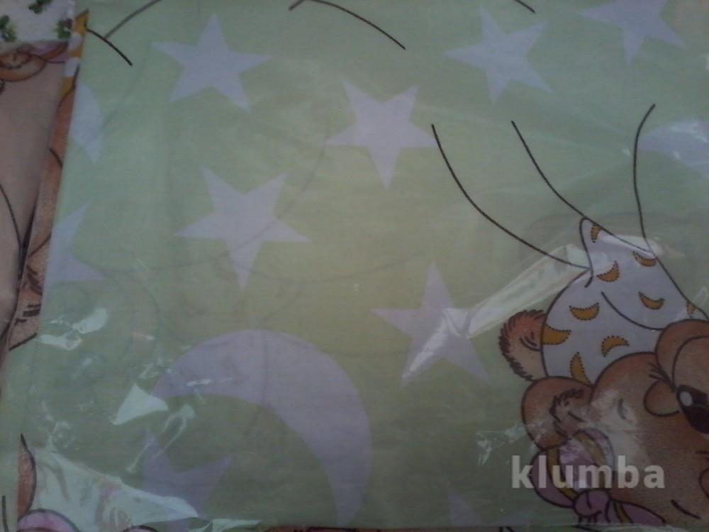 Детское постельное белье в кроватку:простынь,пододеяльник,наволочка фото №7
