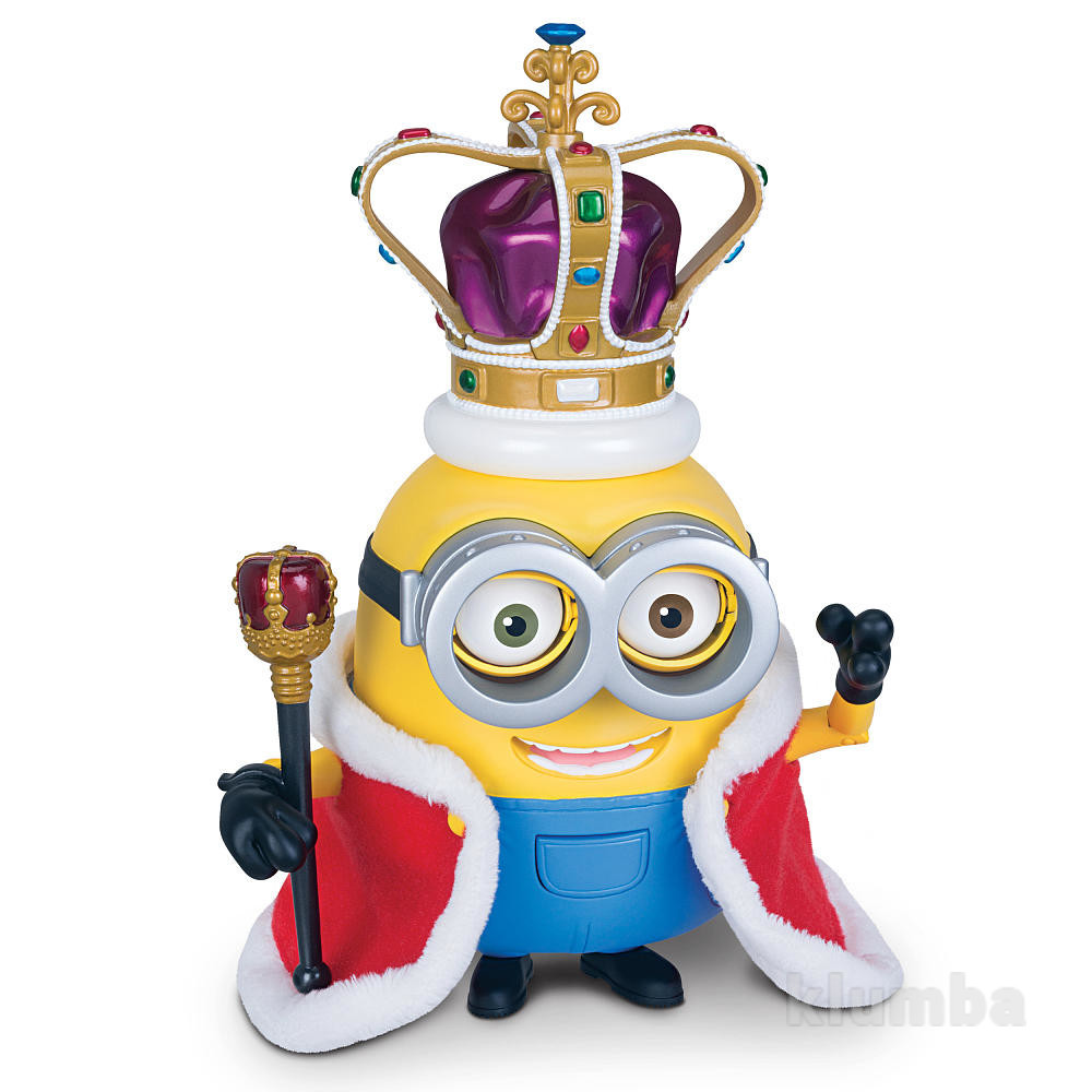 Minions movie action figure - british invasion king bob король боб фото №1
