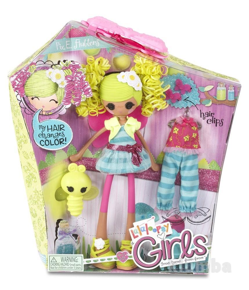Lalaloopsy girls ppix e. flutters doll кукла лалалупси цветочная фея фото №1