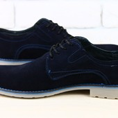 Туфли мужские замш