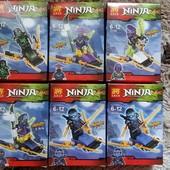 Конструктор Lele Ninja Нинзяго,  Masters of Spijitzu.