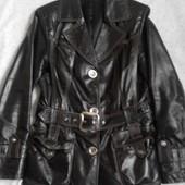 Женская кожаная куртка р.46-48