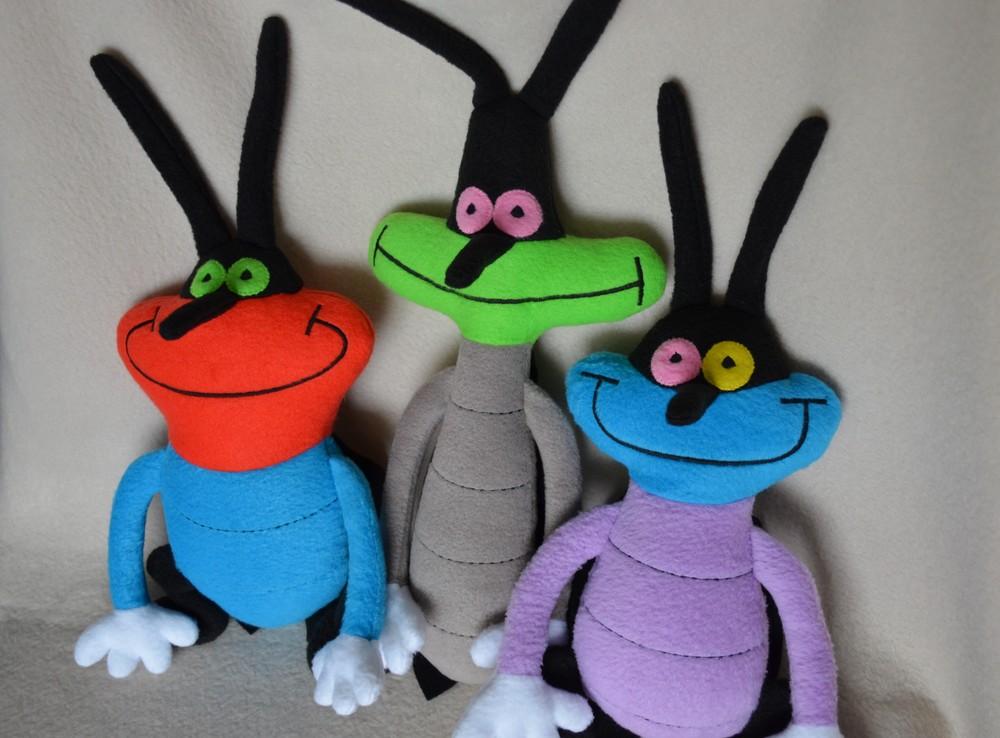 Кукарачи (тараканы) - мягкие игрушки фото №1