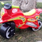 Доставка! Каталка Kinderway Мотоцикл (11-006) Красный