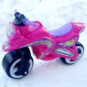 Доставка! Каталка Kinderway Мотоцикл (11-006) Розовый