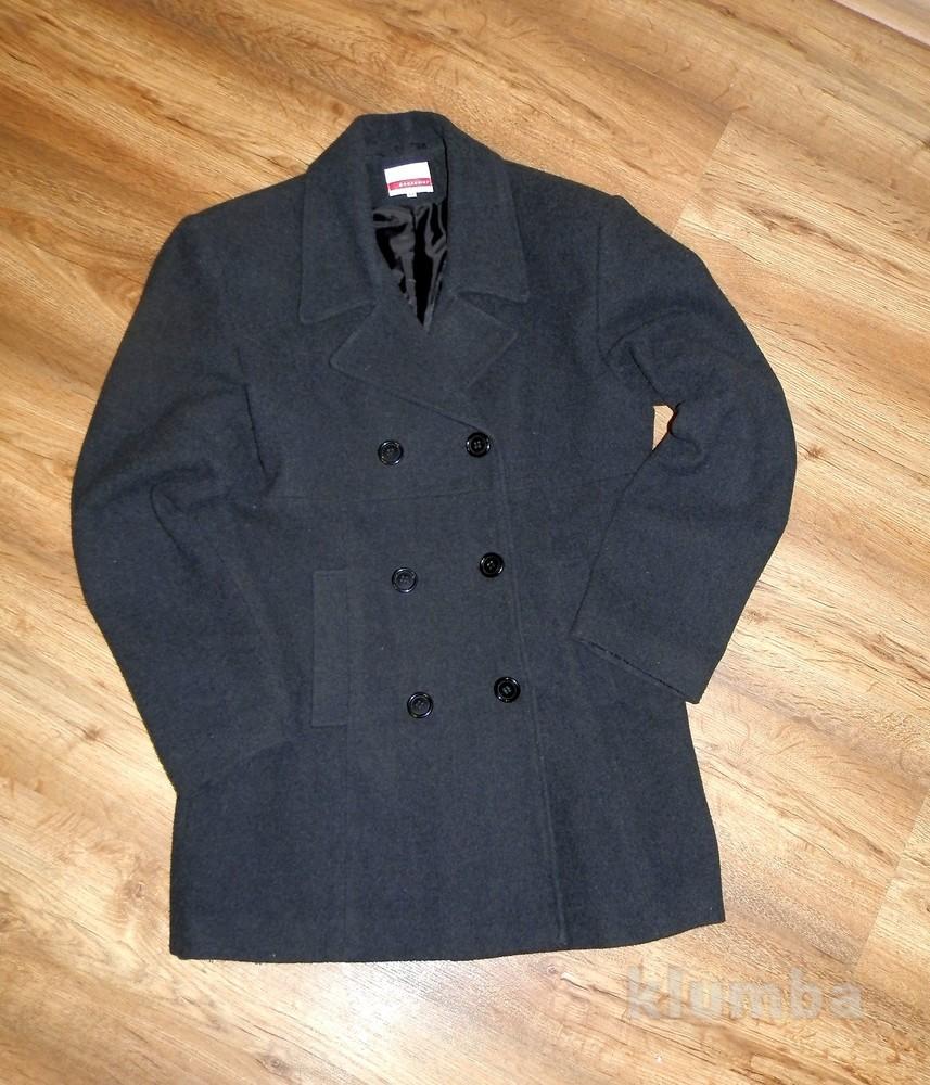 Стильное мужское  пальто Broadway р.М (48) фото №1