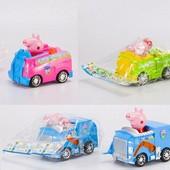 """Машинка """"Свинка Пеппа"""" XZ-372A"""