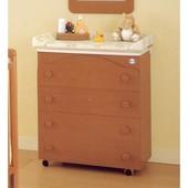 Комод-пеленатор с ванночкой Pali Four Honey Сherry