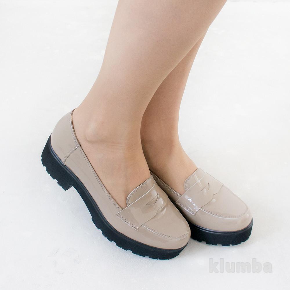 Туфли из лакированной кожи. скидка фото №1