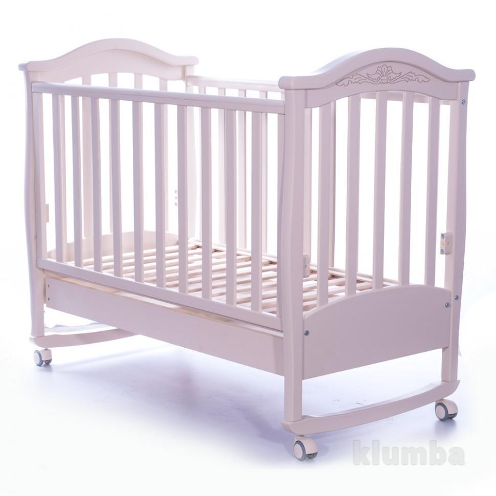 Детская кроватка Верес Соня ЛД3 белый 03.06 фото №1