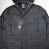 Зимний пуховик, куртка Tiger force , 3XL-4XL, р-ры 58-60, цвет черный