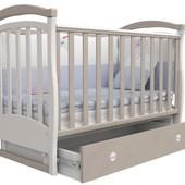 Детская кроватка Верес Соня ЛД6 маятник капучино 06.10