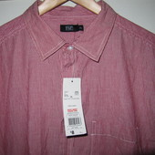 Рубашка мужская большого размера F&F (XL)