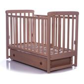 Детская кроватка Верес Соня ЛД12 маятник,ящик,лапки бук 12.1.01